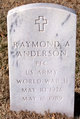 Profile photo:  Raymond A. Anderson