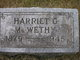 "Harriet Grace ""Hattie"" <I>Lamphere</I> McWethy"