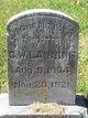 "Charles Wesley ""C.W."" Lanning"