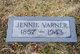 Jennie Catharine <I>Parson</I> Varner