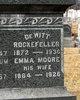 Emma <I>Moore</I> Rockefeller