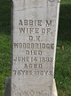 "Abigail M. ""Abbie"" <I>Morse</I> Woodbridge"