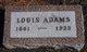 Louis Adams