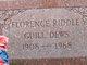 Florence Riddle <I>Guill</I> Dews