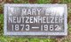 Profile photo:  Mary Lydia <I>Guyer</I> Neutzenhelzer