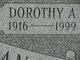 Profile photo:  Dorothy A <I>Kline</I> Buchanan