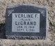 Profile photo:  Verline F. <I>Blair</I> LeGrand