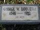 Profile photo:  George Washington Doolittle