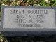 Profile photo:  Sarah A. <I>Speaks</I> Doolittle