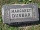 Margaret <I>Sams</I> Dunbar