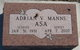 Profile photo:  Adrian V <I>Manns</I> Asa