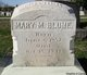 Profile photo:  Mary Margaret <I>Zink</I> Blume