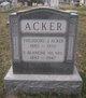 Profile photo:  F. Blanche Acker