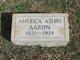 America Ashby Aaron