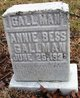 Profile photo:  Annie Bess Gallman