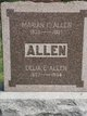 "Idelia Eveylin ""Delia"" <I>Cain</I> Allen"