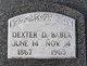 """Dexter Dole """"Deck"""" Baber"""