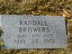 Profile photo:  Randall Browers