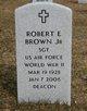 """Robert E """"Harry"""" Brown, Jr"""