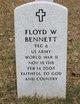 Floyd W Bennett