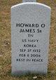 Howard O James, Sr