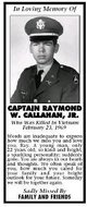 Profile photo: Capt Raymond W Callahan, Jr