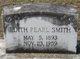 Edith Pearl <I>Taylor</I> Smith