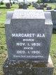 Profile photo:  Margaret Ala