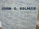 John Greenleaf Holman
