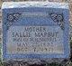 Sallie <I>Marbut</I> Morris