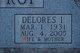 Delores Irene <I>Becker</I> Sulltrop