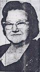 Bertha Mary <I>Vanderpool</I> Cann