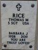 Profile photo:  Barbara Jean Rice