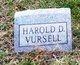 Profile photo:  Harold D Vursell