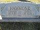 Mahaley Catherine <I>Blakey</I> Hammond