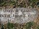 Profile photo:  David A Cannon