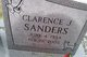 Clarence J Sanders