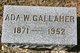 Profile photo:  Ada <I>Watson</I> Gallaher