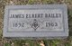 Profile photo:  James Elbert Bailey