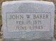 Profile photo:  John W. Baker