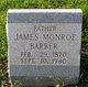 James Monroe Barber