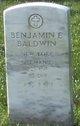 Benjamin E Baldwin