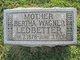 Bertha <I>Wagner</I> Ledbetter