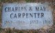 "Profile photo:  Charles N ""Charley"" Carpenter"