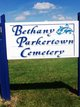 Bethany Parkertown Cemetery