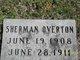 Sherman Fay Overton