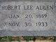 Profile photo:  Robert Lee Allen