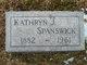 Kathryn <I>Dewitt</I> Spanswick