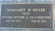 """Margaret H. """"Tutu"""" <I>Peck</I> Miller"""