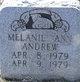 Profile photo:  Melanie Ann Andrew
